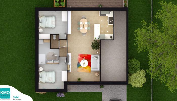 Maisons 2 Chambres Maisons Kmo